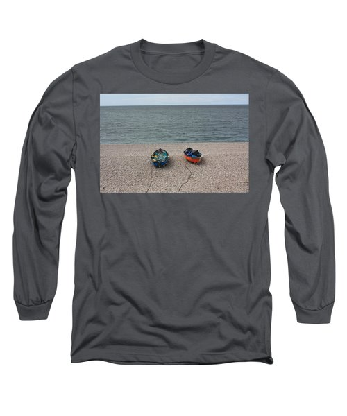 Waiting To Go To Sea Long Sleeve T-Shirt