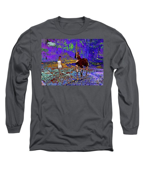 Walk The Enchanted Forest Long Sleeve T-Shirt