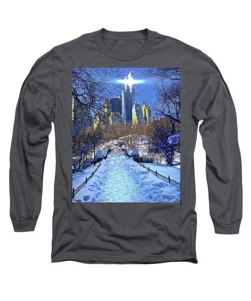 Walk Thru Central Park Long Sleeve T-Shirt