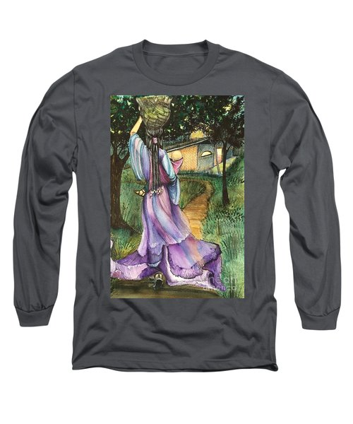 Walk With My Baby Long Sleeve T-Shirt