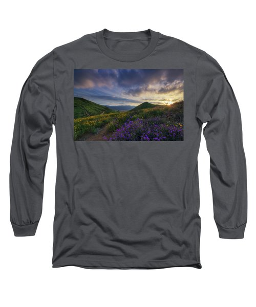 Walker Canyon Long Sleeve T-Shirt by Tassanee Angiolillo
