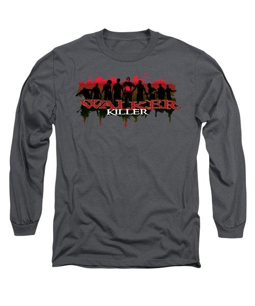 Walker Killer Long Sleeve T-Shirt by Rob Corsetti