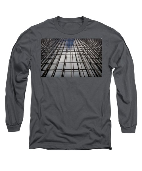 Walkie Talkie Skyscraper London Long Sleeve T-Shirt by Shirley Mitchell
