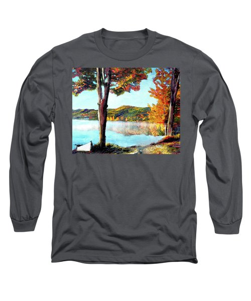 Walking Down Lake Champlain Long Sleeve T-Shirt