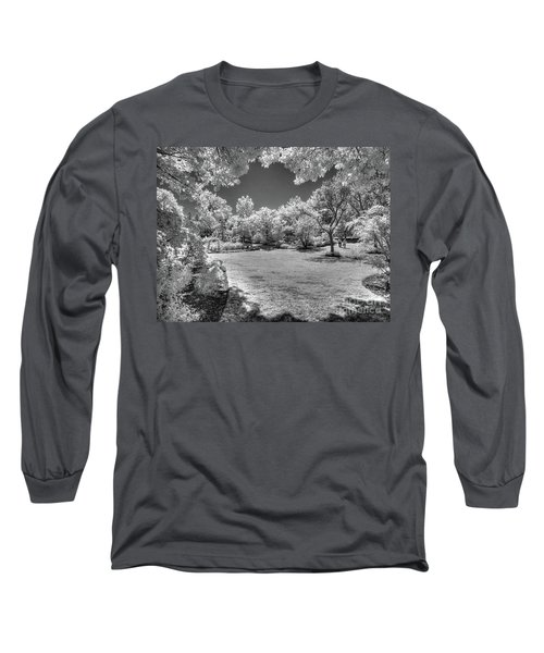 Walking In Clark Gardens Long Sleeve T-Shirt