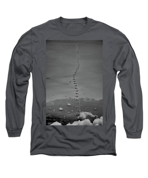 Walking On Thin Ice Long Sleeve T-Shirt