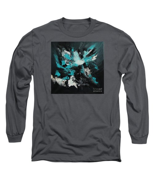 Walking Wave-4 Long Sleeve T-Shirt