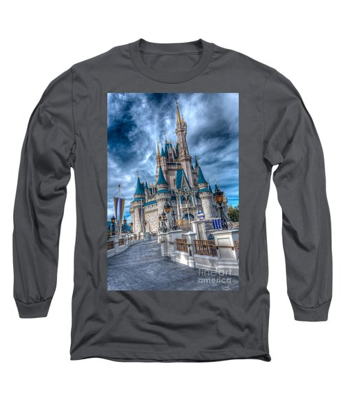Walkway To Cinderellas Castle Long Sleeve T-Shirt