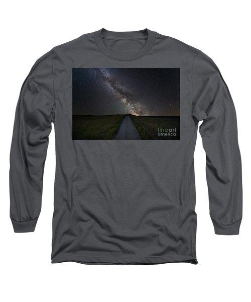 Walkway To The Stars Long Sleeve T-Shirt