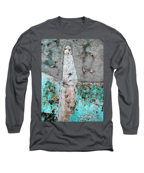 Wall Abstract 118 Long Sleeve T-Shirt