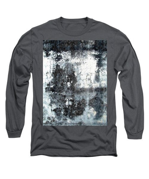Wall Abstract 165 Long Sleeve T-Shirt by Maria Huntley