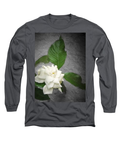 Long Sleeve T-Shirt featuring the photograph Wall Flower by Carolyn Marshall