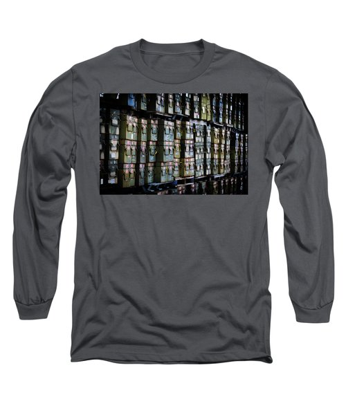 Wall Of Containment Long Sleeve T-Shirt