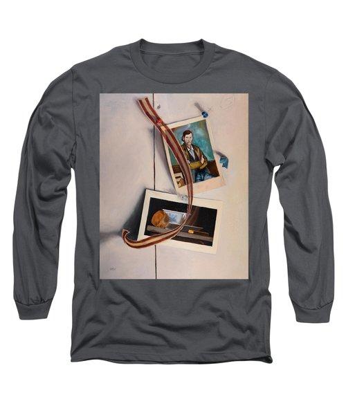 Wall Study Long Sleeve T-Shirt