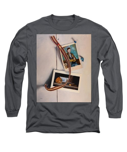 Wall Study Long Sleeve T-Shirt
