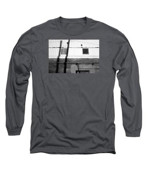 Wall Widows  Shadow 2 Long Sleeve T-Shirt by Catherine Lau