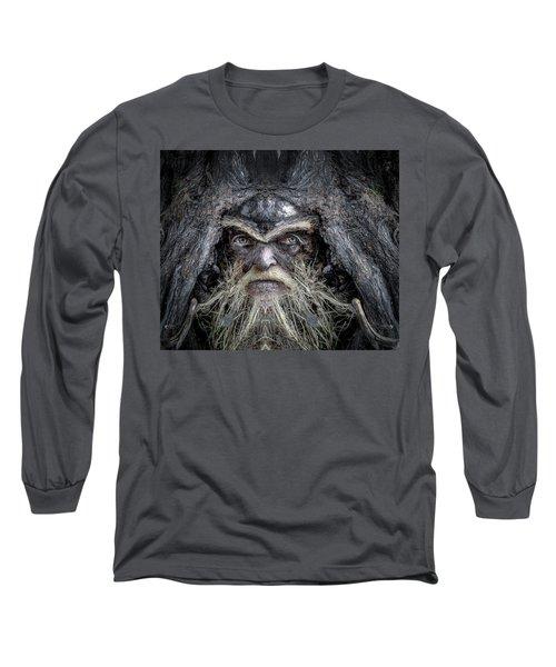 Wally Woodfury Long Sleeve T-Shirt by Rick Mosher