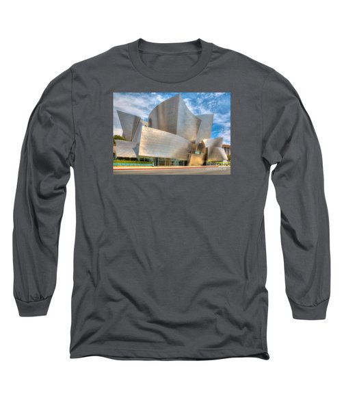 Walt Disney Concert Hall - Los Angeles Long Sleeve T-Shirt by Jim Carrell