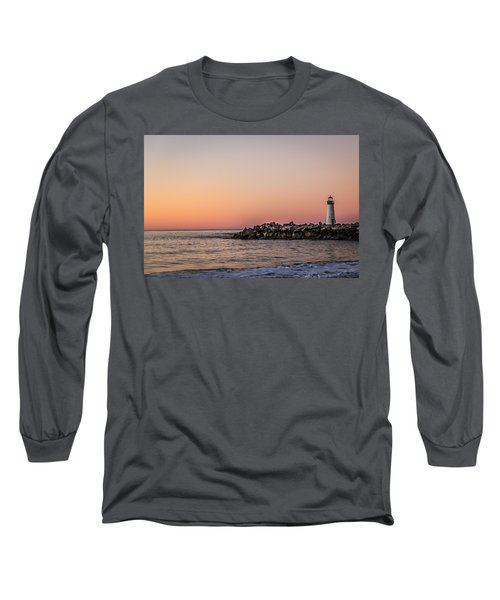 Long Sleeve T-Shirt featuring the photograph Walton At Sunset by Lora Lee Chapman