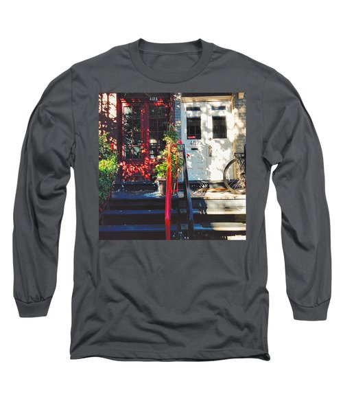 Wandering Around The Plateau On A Long Sleeve T-Shirt