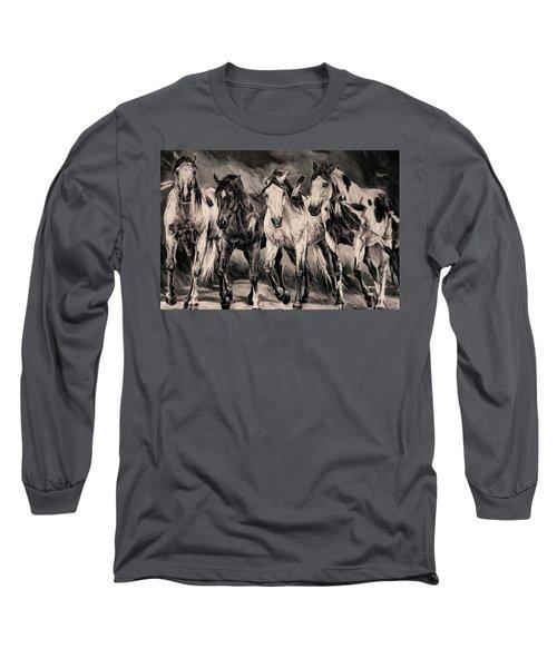 War Horses Long Sleeve T-Shirt