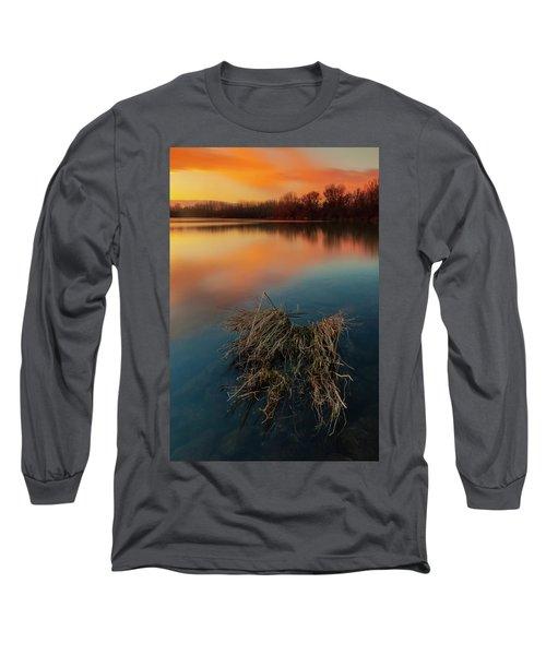 Warm Evening Long Sleeve T-Shirt