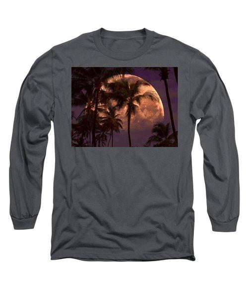 Warm Tropical Nights Long Sleeve T-Shirt