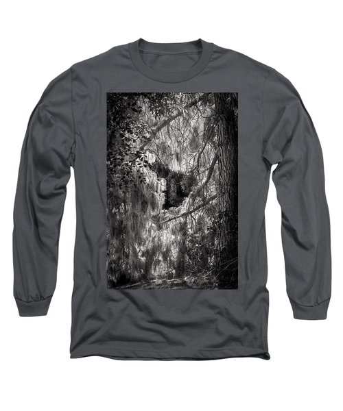 Warp Of Life Bw Long Sleeve T-Shirt
