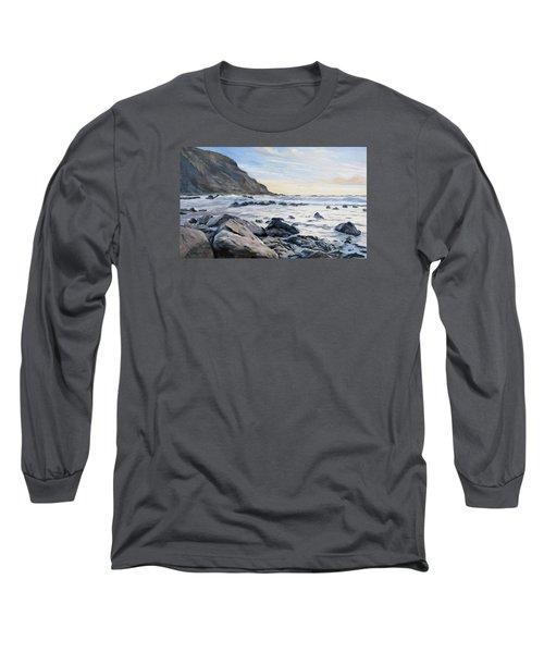 Warren Point Sunset Duckpool Long Sleeve T-Shirt