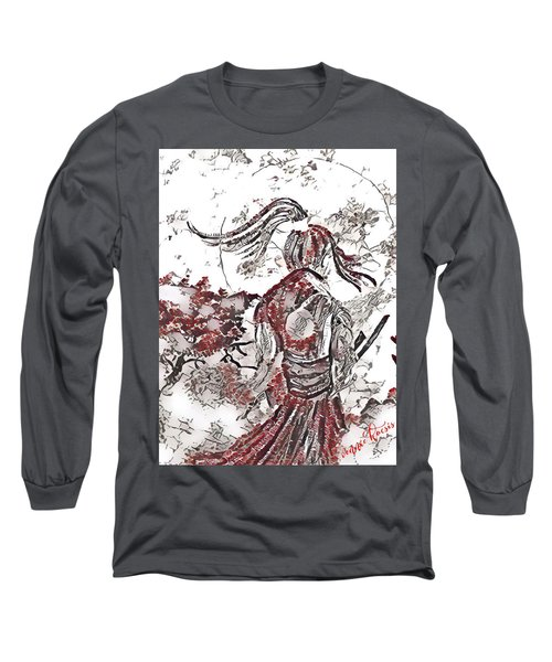 Warrior Moon Anime Long Sleeve T-Shirt