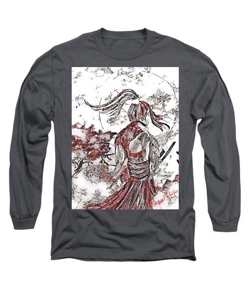 Warrior Moon Anime Long Sleeve T-Shirt
