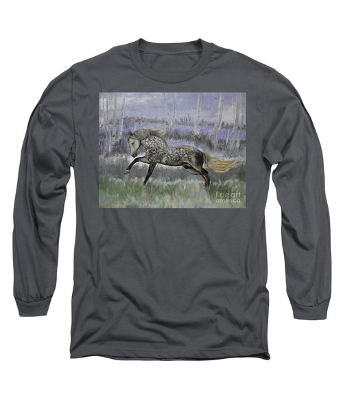 Warrior Of Magical Realms Long Sleeve T-Shirt