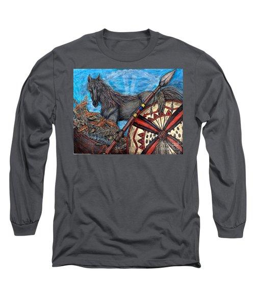 Warrior Spirit Long Sleeve T-Shirt
