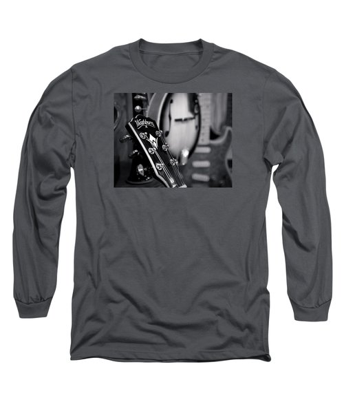 Long Sleeve T-Shirt featuring the photograph Washburn Guitar by Andy Crawford