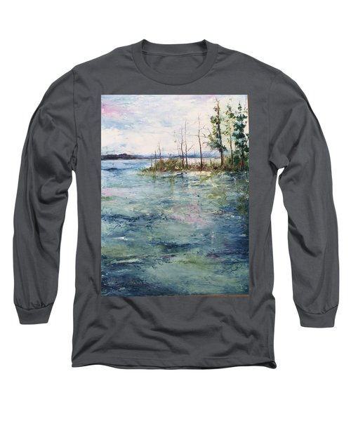 Washed By The Waters Series Long Sleeve T-Shirt by Robin Miller-Bookhout