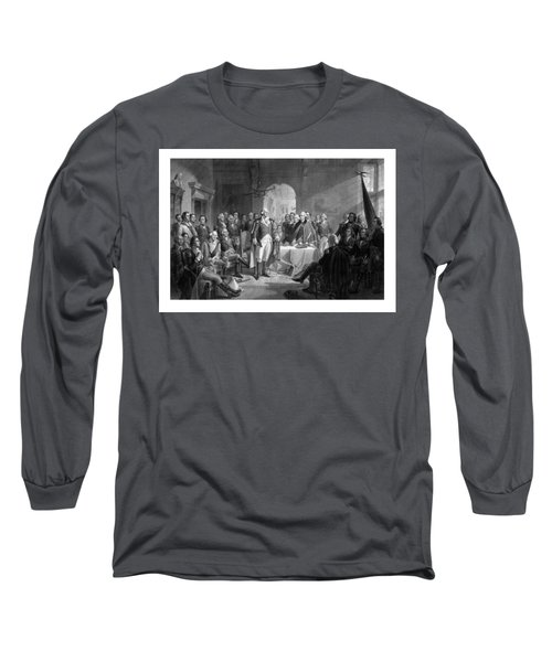 Washington Meeting His Generals Long Sleeve T-Shirt