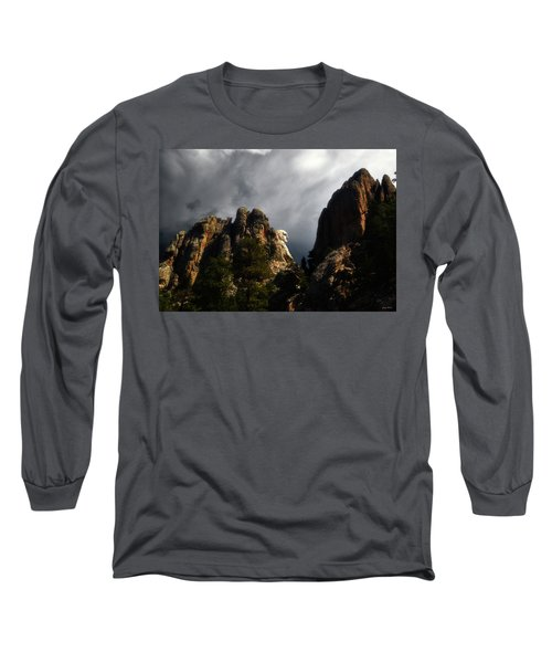 Long Sleeve T-Shirt featuring the photograph Washington Profile 001 by George Bostian