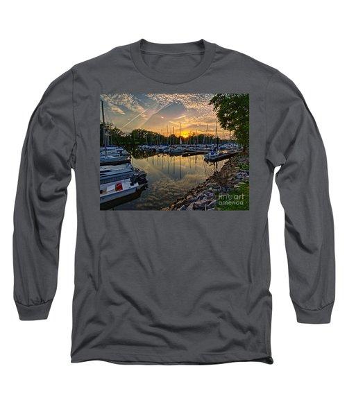 Washington Sailing Marina Long Sleeve T-Shirt