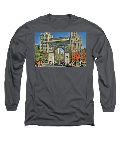 Washington Square Park - N Y C Long Sleeve T-Shirt