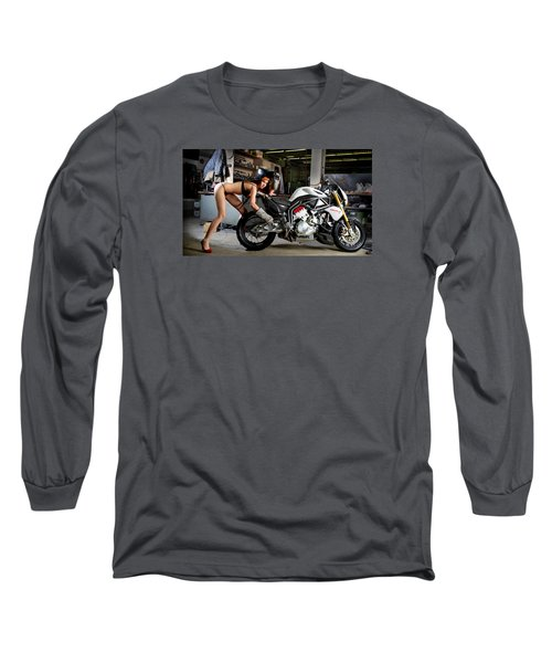 Watch Out For The Sparks Long Sleeve T-Shirt by Lawrence Christopher