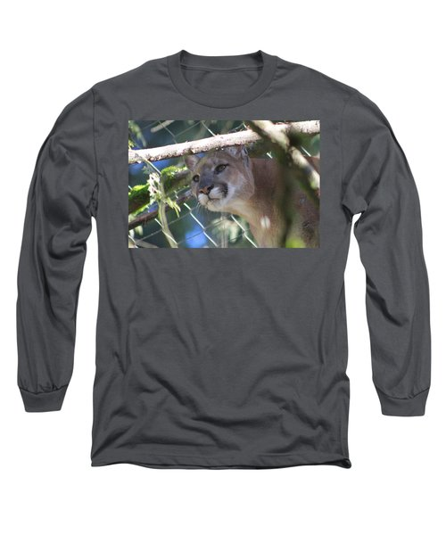 Long Sleeve T-Shirt featuring the photograph Watchful Eyes by Laddie Halupa