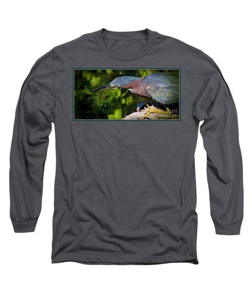 Watching Long Sleeve T-Shirt by Pamela Blizzard