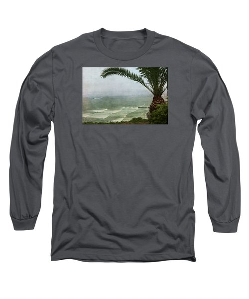 Watching The Boats Come In Long Sleeve T-Shirt
