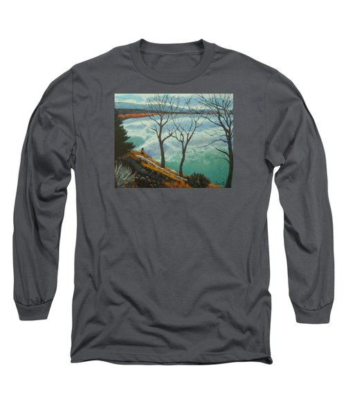 Watching The Clouds Go By Long Sleeve T-Shirt