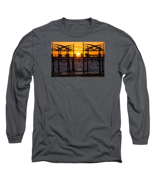 Watching The Sunset Long Sleeve T-Shirt by Ed Clark
