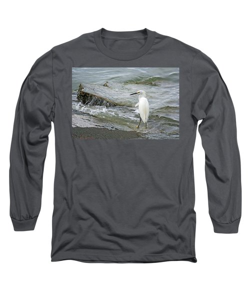 Watching The Tide Come In Long Sleeve T-Shirt