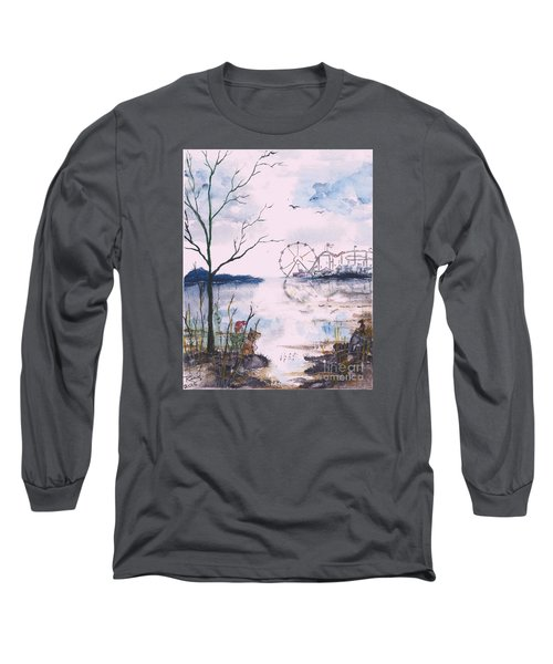 Watching The World Go Round Long Sleeve T-Shirt