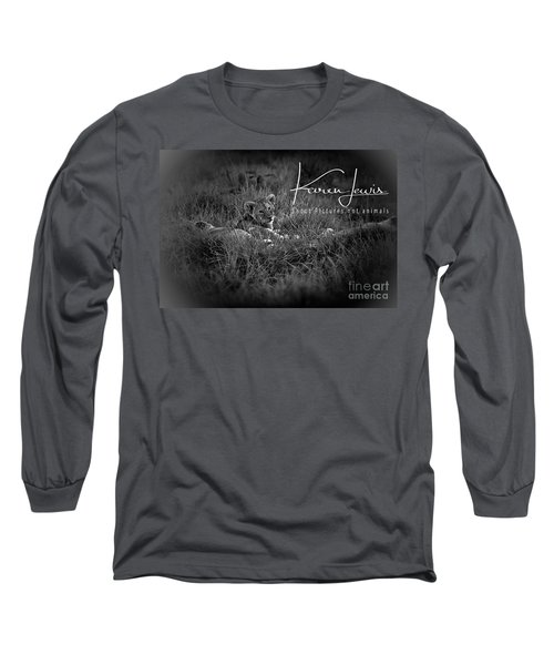 Long Sleeve T-Shirt featuring the photograph Watching You Watching Me by Karen Lewis