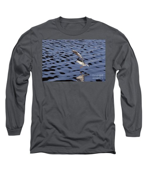 Water Alighting Long Sleeve T-Shirt by Michal Boubin