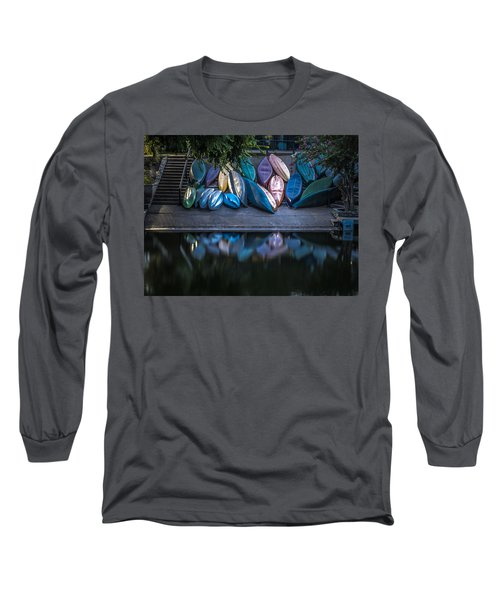 Water Color Long Sleeve T-Shirt